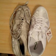how to clean nfinity shoes